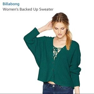 Billabong Backed Up Sweater - NWOT